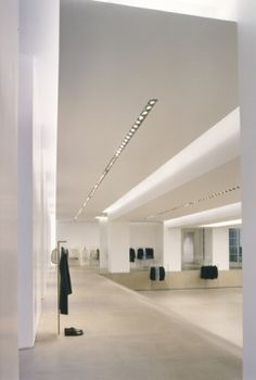 Jil Sander, showroom and atelier  Milan _ by architect Gabellini Sheppard _