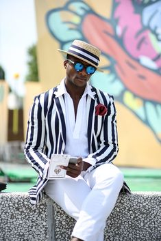 The Best Street Style Inspiration & More Details That Make the Difference Mens Fashion Blog, Mens Fashion Suits, Look Fashion, Fashion Tips, Der Gentleman, Gentleman Style, Mens Style Guide, Men Style Tips, Street Style Inspiration