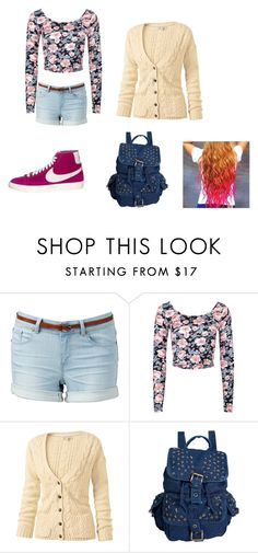 """""""Moving in day!"""" by nicole-tw-sykes ❤ liked on Polyvore featuring Forever New, Full Tilt, Fat Face and NIKE"""