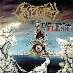 Cryptopsy - Blasphemy Made Flesh [New CD] Holland - Import Death Metal, Extreme Metal, Sr1, Metal Albums, Google Play Music, Cd Album, Debut Album, Warhammer Fantasy, Metal Artwork