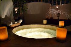 Jacuzi bath, Wayak Spa, Mexico