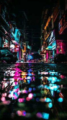 Photography Street Rain City Lights 68 New Ideas Urban Photography, Night Photography, Street Photography, Photography Lighting, Photography Backdrops, Photography Books, Newborn Photography, Photography Courses, Digital Photography