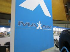 The Maxam Sign at AIMEX #Maxam #MaxamTire #Tire #Tyre #Tires #Show #AIMEX #Sydney #Australia #Stamford #Exhibition #OTR #Solid #Pneumatics #Industrial #Construction #Mining #Smooth #Running