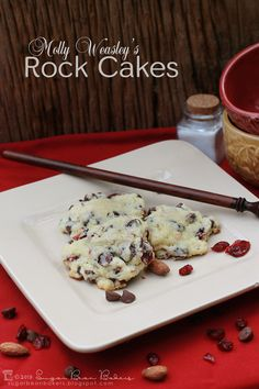 Sugar Bean Bakers: {Molly Weasley's Rock Cakes: Guest Post at Bakingdom}