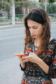 A Sardinian girl waiting for the bus [OC][3648x5472]
