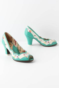 Home Sweet Home Peep-Toes - Anthropologie