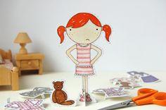 Todos os tamanhos | clara bedtime paper doll | Flickr – Compartilhamento de fotos!