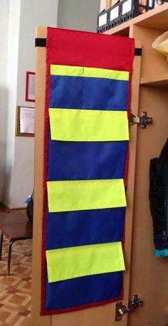Кармашки в шкафчики в детском саду, а также НОВИНКА Именные мешочки для подарков