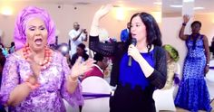 Anita Oyakhilome of Christ Embassy Nigeria stuns as she attends her mum's birthday party - http://www.nollywoodfreaks.com/anita-oyakhilome-of-christ-embassy-nigeria-stuns-as-she-attends-her-mums-birthday-party/