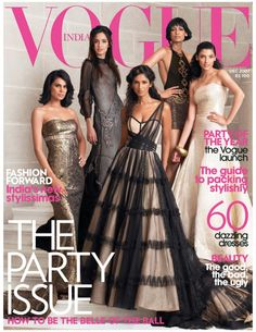 Get your digital subscription/issue of VOGUE India-December 2007 Magazine on Magzter and enjoy reading the magazine on iPad, iPhone, Android devices and the web. Young Fashion, Vogue Fashion, Fashion Photo, Vogue Magazine Covers, Vogue Covers, Celebrity Style Dresses, Vogue India, Indian Attire, Couture Dresses