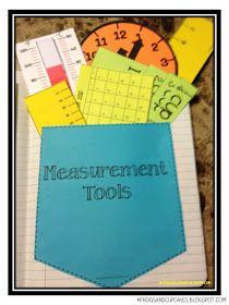 Measurement tools inside students' Math Notebooks