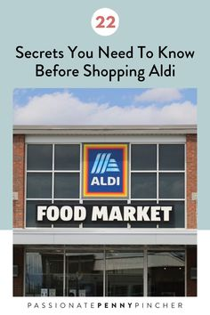 22 Secrets You Need To Know Before Shopping Aldi: Seriously My Favorite Place To Shop Right Now! Aldi Recipes, Best Savings, Frugal Living Tips, Budgeting Tips, Ways To Save, Money Saving Tips, Diy Crafts To Sell, Need To Know, The Secret