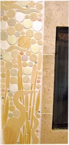 "Custom Handmade Tile for Unlimited Possibilities by ""Tiles with Style""... A Decorative Ceramic Tile Studio"
