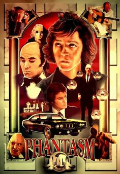Phantasm.this is a great movie 1&2 are take a look at them