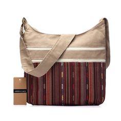 19e6ce301c2b Annmouler Women Cotton Fabric Shoulder Bag Gypsy Bohemian Hobo Bag Chic Hippie  Aztec Folk Tribal Woven