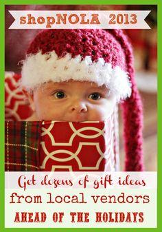 2nd Annual shopNOLA Holiday Gift Guide ... coming November 2013!