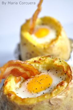 Potato Baked Eggs, another recipe to try