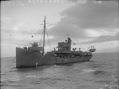 HMT Southcoates, originally built as Samuel Drake in 1918 saw service in both World Wars as a naval trawler. Southcoates was Signalman Brooks's first draft.