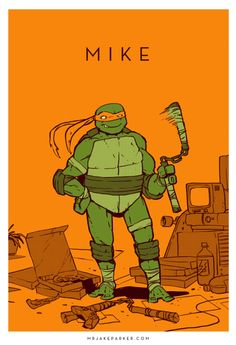 Mike by Jake Parker