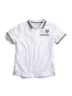GUESS Kids Boys Short-Sleeve Polo Shirt Graphic « Clothing Impulse