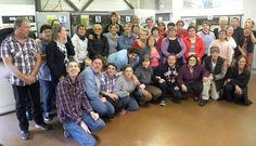 28/10/14. RIEUMES. C'était jour de fête en cette fin de semaine à l'Établissement de services d'aide par le travail (ESAT) Les Pins de Rieumes ; l'un des quatorze établissements que gère l'association des jeunes handicapés (AJH) présidée par Gérard Rey et dirigée ...