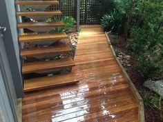 Tropical Courtyard Garden Design Northern Beaches Sydney Newport