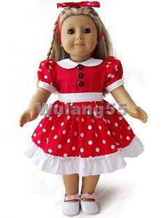 Doll Clothes fits 18
