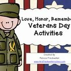 Veterans Day Math & ELA Activities for Center Time Kindergarten Learning, Math Literacy, Literacy Activities, Veterans Day Activities, First Grade Activities, Veterans Day Thank You, Doubles Facts, Daddy, Classroom Art Projects