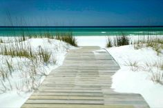 Sandestin, Florida - The water is so green there on the Emerald Coast...