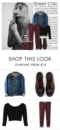 STREET by mrfieryphoenix on Polyvore featuring