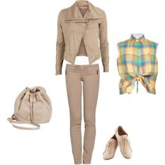 """Soft Summer Light - neutral beige"" by adriana-cizikova on Polyvore"