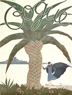 Old Vogue cover via It's Nice That