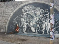 """mural """"MADRES"""", Martin Ron"""