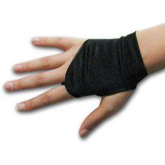 Wrist Fingerless Mitt Shortie Gloves, Shiny Stretch Satin Spandex ($16) ❤ liked on Polyvore