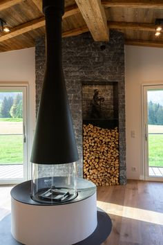 Villa in Austria Villa, Pellet Stove, Indoor, Vase, Wood, Home Decor, Austria, Mountain, Chalets