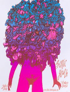 Sonic Youth poster by Zeloot