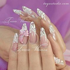 www.tayastudio.com  #mani #nailpictures #iloveyournailss #prettynails #naglar #네일아트 #ネイル #네일 #manucure #vernis #nailartdiary #instanails #красивыйманикюр #роспись #nailsdone #nailaddict #nailartist #fashionblogger #nailaddicts #painting #nailartwow #cutenails #naildesigns #lovenails #longnails #нейларт #nailedit #nailed #nailtech #nailarts