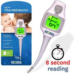 Revieta Medical Thermometer Accurate Results Health Baby Child Adult Digital   #Revieta