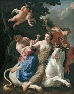 Ratto d'Europa, Simon Vouet, 1640 ca.