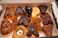 Sublime Donuts in Atlanta! Best donuts in the south, promise! Happy Birthday Donut, Birthday Morning Surprise, Birthday Breakfast, Birthday Cake, Birthday Ideas, 35th Birthday, Birthday List, Birthday Wishes, Birthday Parties