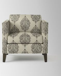 Dunham Down Filled Armchair   Boxed (Prints) | West Elm   Recover Grandmau0027s  Chair Like This | Living Room | Pinterest | Armchairs, Bedroom Chair And  Master ...
