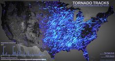 Infographic: 56 Years Of America's Most Terrifying Tornadoes | Co.Design: business + innovation + design