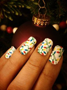 So I didn't  paint them, but I do love this Jamberry pattern.