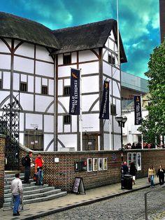 London, England--the Globe Theater (LW17-1)