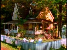 This is the house I built mine to look like.  Rose Cottage from Avonlea