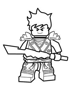 Ausmalbild Lego Ninjago Lloyd Zx Kategorien Lego Ninjago