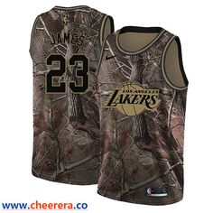 Men s Nike Los Angeles Lakers  23 LeBron James Camo NBA Swingman Realtree  Collection Jersey La 591dcf701
