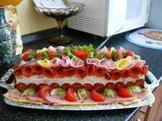 Slaná torta - Toustová tehla