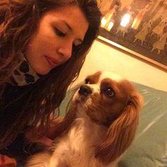 #goodnight #mylove #home #dog #cavalierking #mia by alessiaaeva
