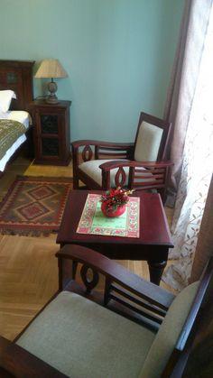 Green room #cosy #atmosphere #oriental #details #wooden #furniture #unique #design #hotel #belgrade